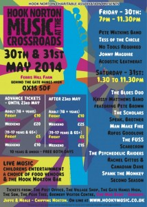 Poster - Music at the Crossroads